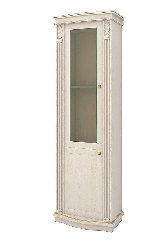 Шкаф с витриной CARDINAL (левое исполнение) - фото
