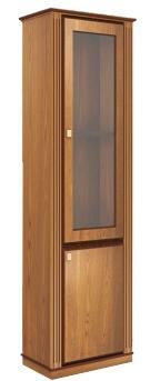 Шкаф с витриной LUMSDEN (правое исполнение) - фото