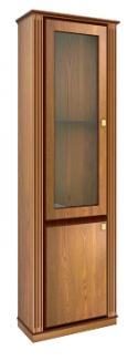 Шкаф с витриной LUMSDEN (левое исполнение)